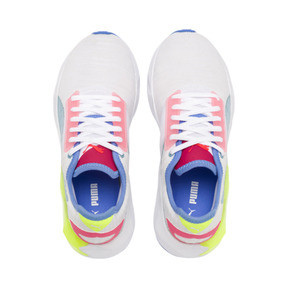 Thumbnail 7 of CELL Plasmic Women's Training Shoes, White-YellowAlert-Milky Blue, medium