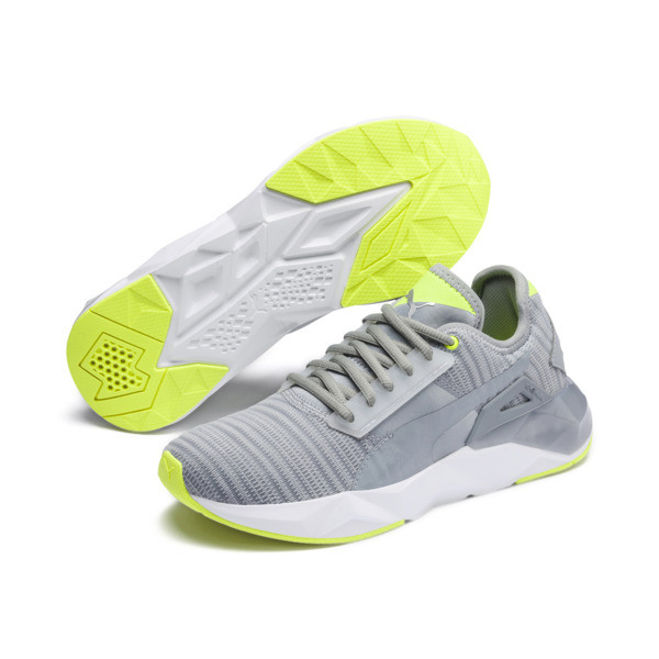 CELL Plasmic Women's Trainers, Quarry-Puma White, large