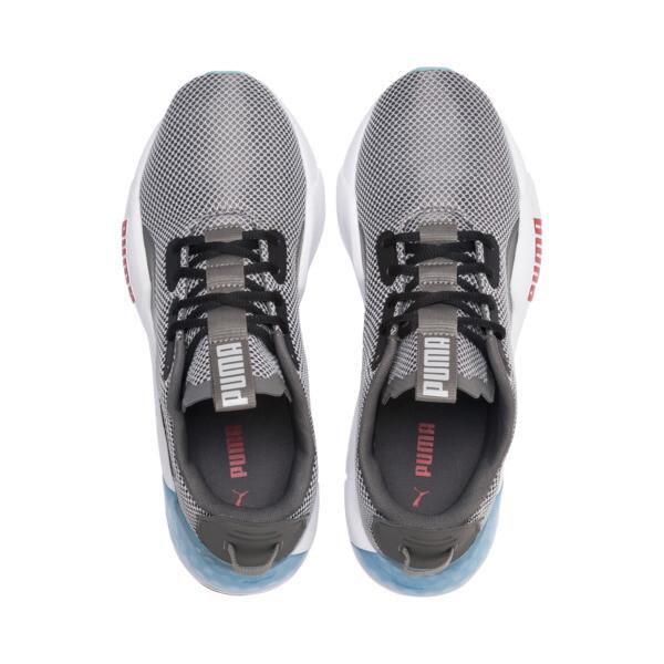 Zapatos de entrenamiento CELL Phase para hombre, CASTLEROCK-White-HighRiskRed, grande
