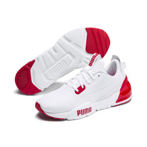 Miniatura 3 de Zapatos de entrenamiento CELL Phase para hombre, Puma White-High Risk Red, mediano