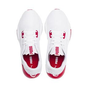 Miniatura 7 de Zapatos de entrenamiento CELL Phase para hombre, Puma White-High Risk Red, mediano
