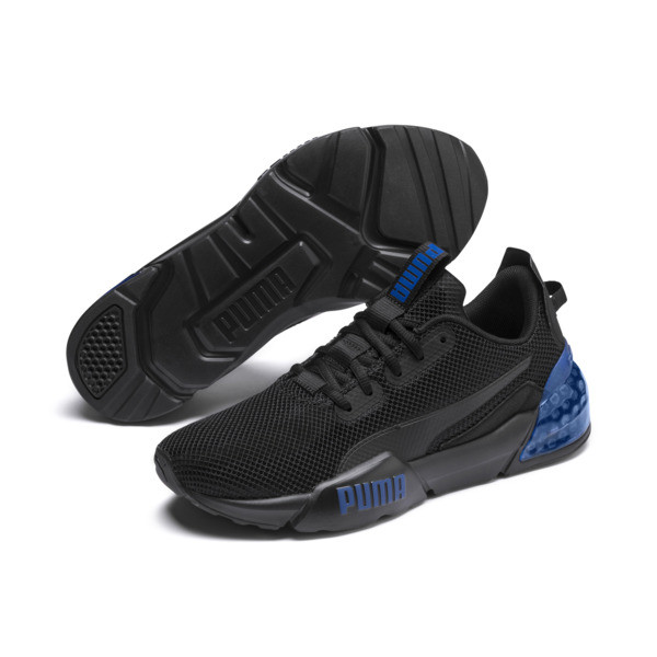 CELL Phase Men's Training Shoes, Puma Black-Galaxy Blue, large