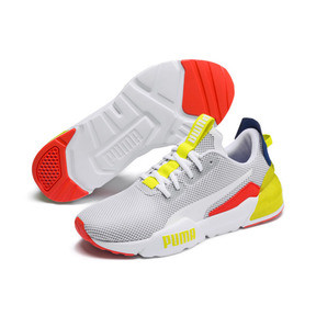 Thumbnail 2 of CELL Phase Men's Training Shoes, White-GalaxyBlue-YellowAlert, medium