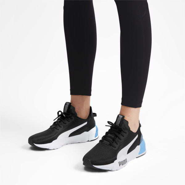 CELL Phase Women's Training Shoes, Puma Black-Puma Silver, large