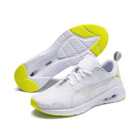 Imagen en miniatura 3 de Zapatillas de running de hombre HYBRID Fuego, Puma White-Yellow Alert, mediana