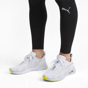Thumbnail 2 of HYBRID Fuego Lights Men's Running Shoes, Puma White-Yellow Alert, medium