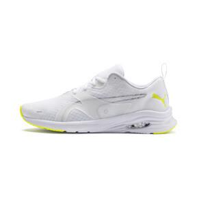 Thumbnail 1 of HYBRID Fuego Lights Men's Running Shoes, Puma White-Yellow Alert, medium