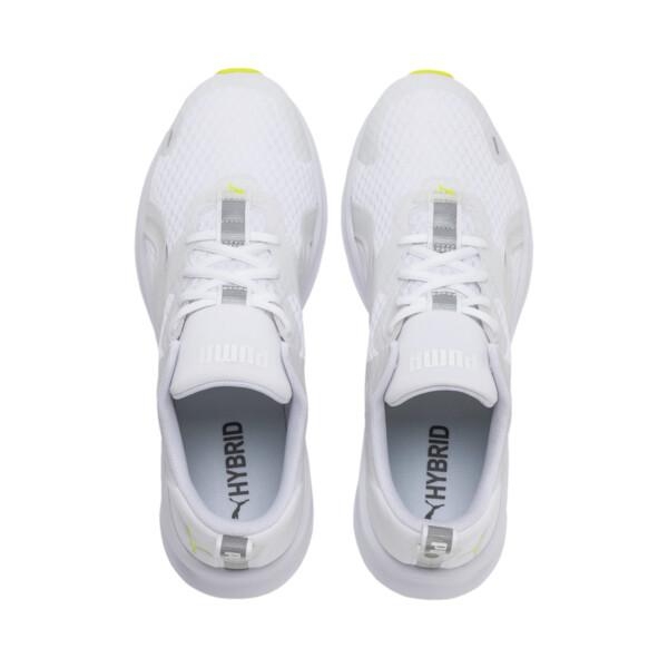 HYBRID Fuego hardloopschoenen voor heren, Puma White-Yellow Alert, large