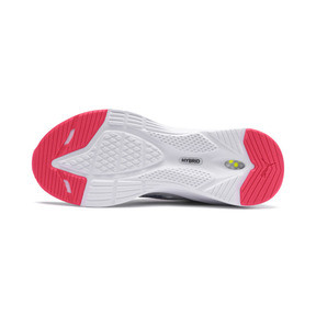 Miniatura 4 de Zapatos para correr HYBRID Fuego para mujer, White-PinkAlert-YellowAlert, mediano