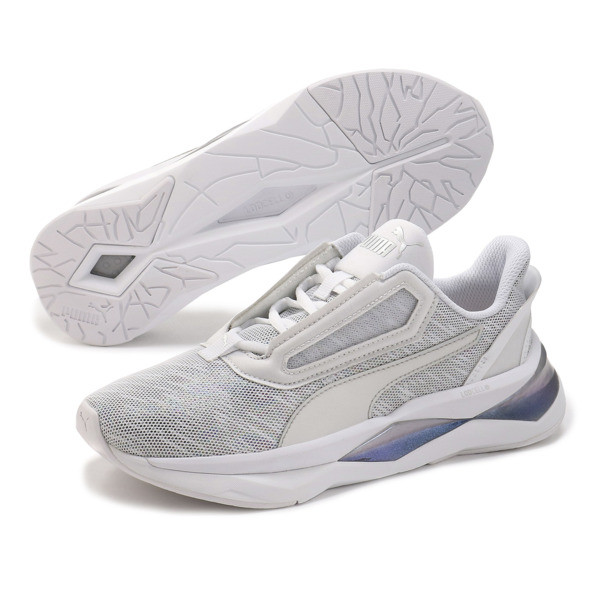 LQDCELL Shatter XT Luster Women's Trainers, Puma White-Puma White, large