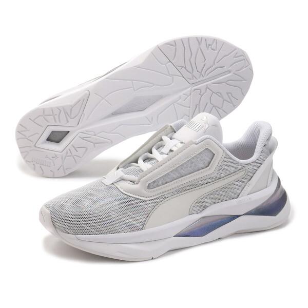 LQDCELL Shatter XT Luster Damen Sneaker, Puma White-Puma White, large