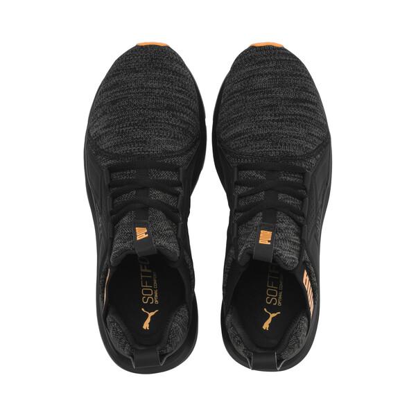 Zapatillas de hombre Enzo, Puma Black-Dark Shadow, grande