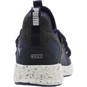 Thumbnail 4 of NRGY Neko Knit Speckle Men's Running Shoes, Peacoat-Puma White, medium