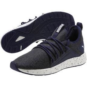 Thumbnail 2 of NRGY Neko Knit Speckle Men's Running Shoes, Peacoat-Puma White, medium