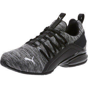 Thumbnail 1 of Axelion Wide Men's Training Shoes, Puma Black-Puma White, medium