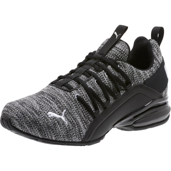 Axelion Wide Men's Training Shoes, Puma Black-Puma White, large