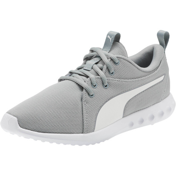 Carson 2 Cosmo Women's Running Shoes, Quarry-Puma White, large