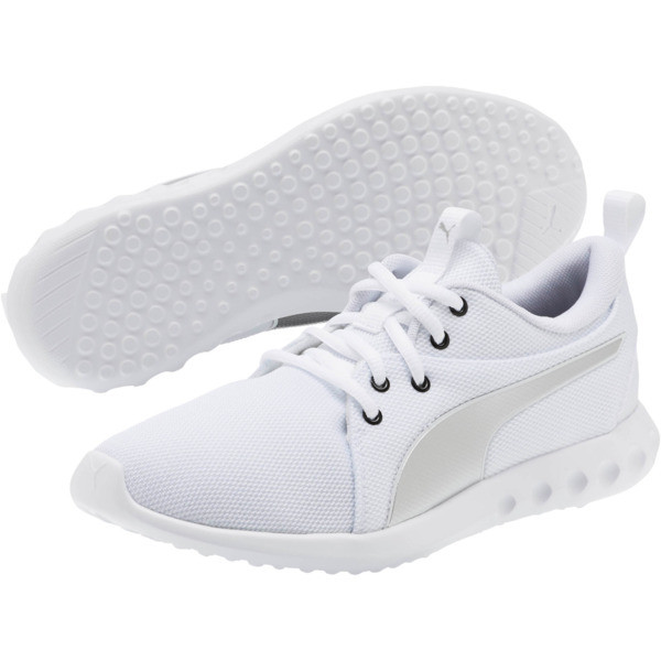 Carson 2 Cosmo Women's Running Shoes, Puma White-Puma Silver, large
