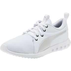 Thumbnail 1 of Carson 2 Cosmo Women's Running Shoes, Puma White-Puma Silver, medium
