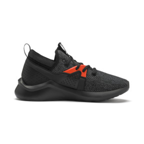 Thumbnail 5 of Emergence Sneakers JR, Puma Black-Cherry Tomato, medium