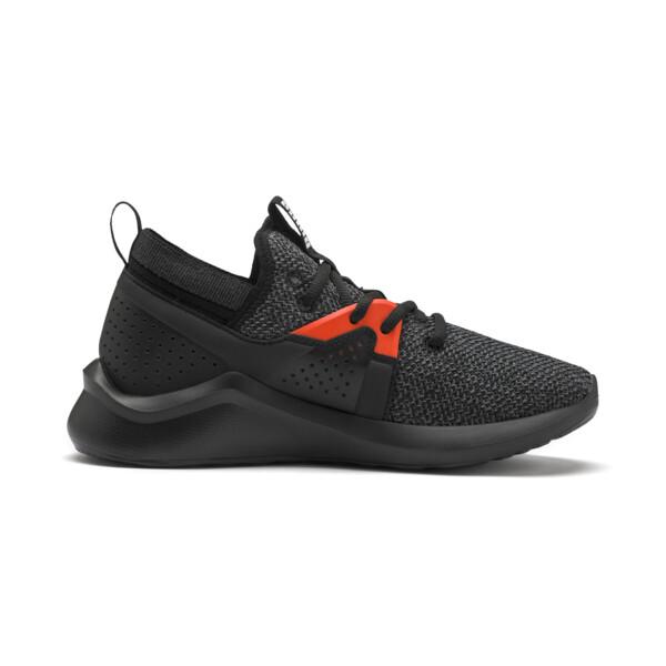 Emergence Sneakers JR, Puma Black-Cherry Tomato, large