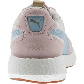 Thumbnail 3 of NRGY Neko Retro Sweet Women's Street Running Shoes, Whisper White-Pink-Sky, medium