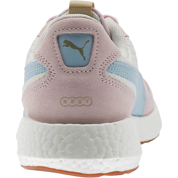 NRGY Neko Retro Sweet Women's Street Running Shoes, Whisper White-Pink-Sky, large