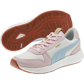 Thumbnail 2 of NRGY Neko Retro Sweet Women's Street Running Shoes, Whisper White-Pink-Sky, medium