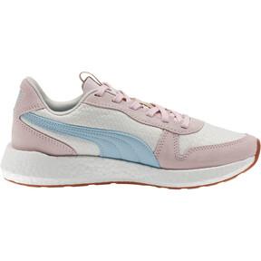 Thumbnail 4 of NRGY Neko Retro Sweet Women's Street Running Shoes, Whisper White-Pink-Sky, medium