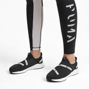 Thumbnail 3 of NRGY Star Slip-On Running Shoes, Black-Pearl-White, medium