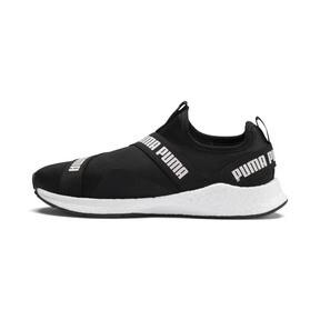 Thumbnail 1 of NRGY Star Slip-On Running Shoes, Black-Pearl-White, medium