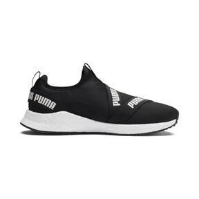 Thumbnail 5 of NRGY Star Slip-On Running Shoes, Black-Pearl-White, medium