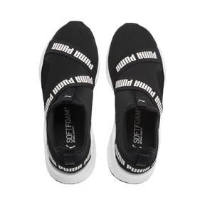 Thumbnail 6 of NRGY Star Slip-On Running Shoes, Black-Pearl-White, medium