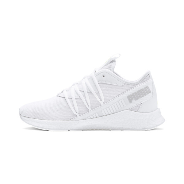 NRGY Star Knit Trainers, Grijs/Geel/Wit, Maat 46 | PUMA