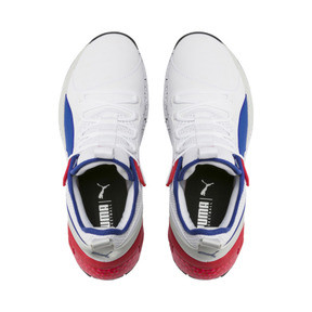 Thumbnail 6 of Uproar Palace Guard Basketball Shoes, Puma White-Surf The Web, medium
