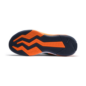 Thumbnail 4 of Uproar Charlotte Basketball Shoes, Orange- PURPLE, medium