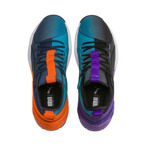 Thumbnail 6 of Uproar Charlotte Basketball Shoes, Orange- PURPLE, medium