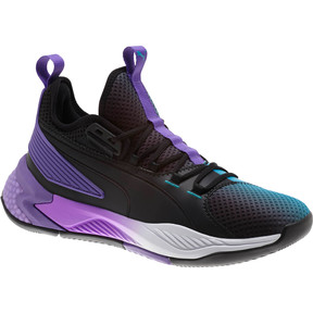 Thumbnail 6 of Uproar Charlotte ASG Fade Basketball Shoes, Orange- PURPLE, medium
