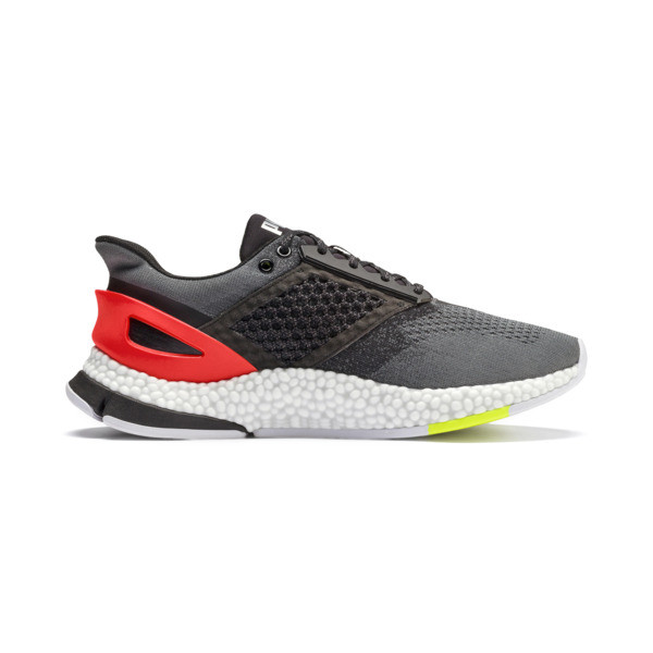 HYBRID Astro Men's Running Shoes, CASTLEROCK-Puma Blck-Ngy Red, large
