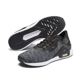 Thumbnail 3 of Rogue X Knit Men's Training Shoes, Black-CASTLEROCK-Gold, medium