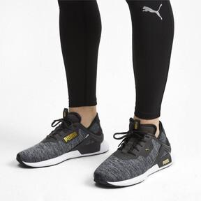 Thumbnail 2 of Rogue X Knit Men's Training Shoes, Black-CASTLEROCK-Gold, medium