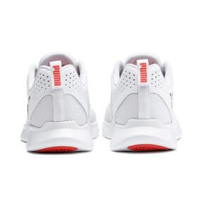 Miniatura 4 de Zapatos deportivos INTERFLEX Modern, Puma White-Black-Nrgy Red, mediano