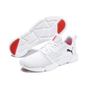 Miniatura 2 de Zapatos deportivos INTERFLEX Modern, Puma White-Black-Nrgy Red, mediano