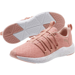 Thumbnail 2 of Prowl Alt Mesh Speckle Women's Training Shoes, Peach Beige-Puma White, medium