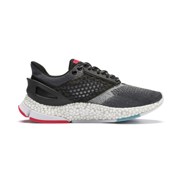 HYBRID NETFIT Astro Women's Running Shoes, Puma Black-Pink Alert, large