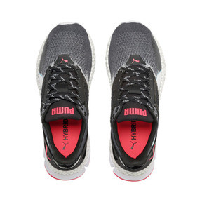 Thumbnail 7 of HYBRID Astro Women's Running Shoes, Puma Black-Pink Alert, medium