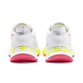 Miniatura 4 de Zapatos para correr HYBRID Astro para mujer, White-Yellow Alert-Pnk Alert, mediano