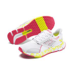 Miniatura 3 de Zapatos para correr HYBRID Astro para mujer, White-Yellow Alert-Pnk Alert, mediano