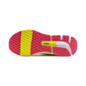Thumbnail 5 of HYBRID NETFIT Astro Women's Running Shoes, White-Yellow Alert-Pnk Alert, medium