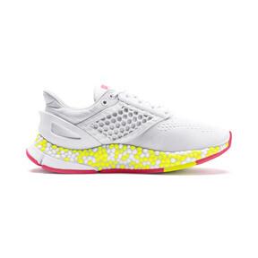 Miniatura 6 de Zapatos para correr HYBRID Astro para mujer, White-Yellow Alert-Pnk Alert, mediano